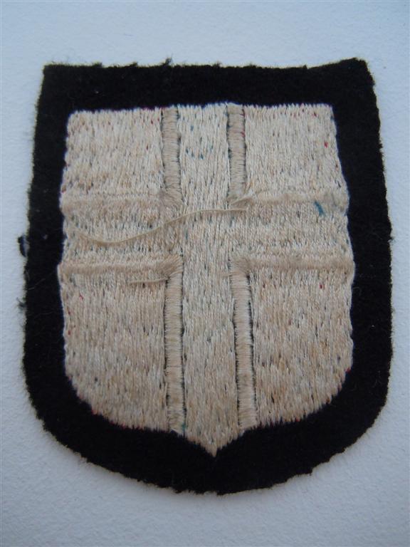 Insigne de nationalité :SS NORVEGIEN  Dscn0316