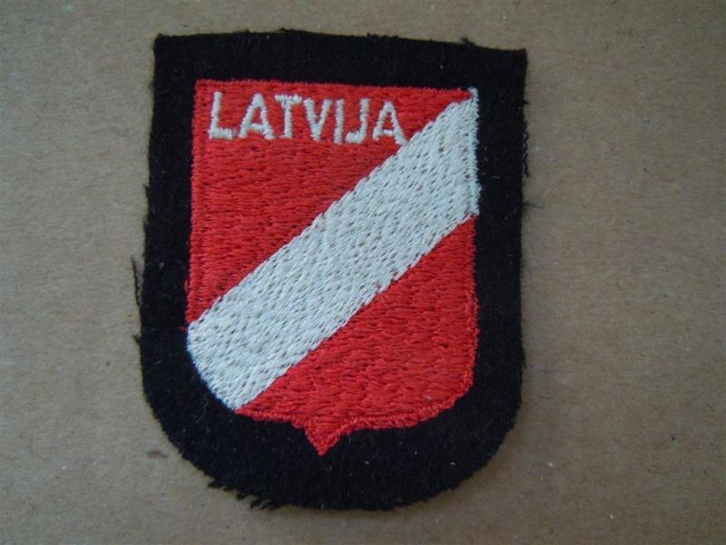 insigne de nationalité: SS LETTON Dscn2620