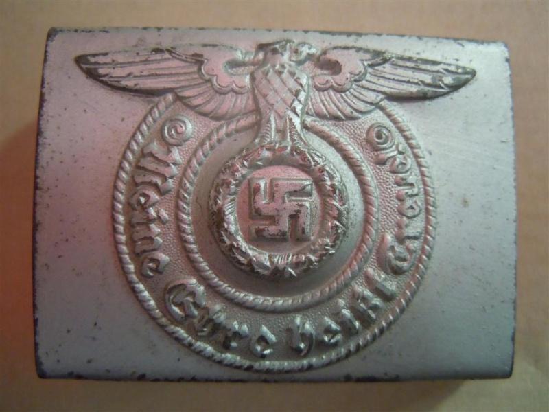 Boucle SS (acier) avec étiquette RZM - RZM 155/40  2nd type  Dscn4313