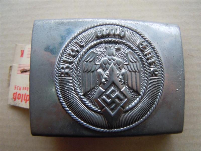 Boucle HJ (zinc) avec étiquette RZM -  RZM M4/22 -  CTD Dscn9715