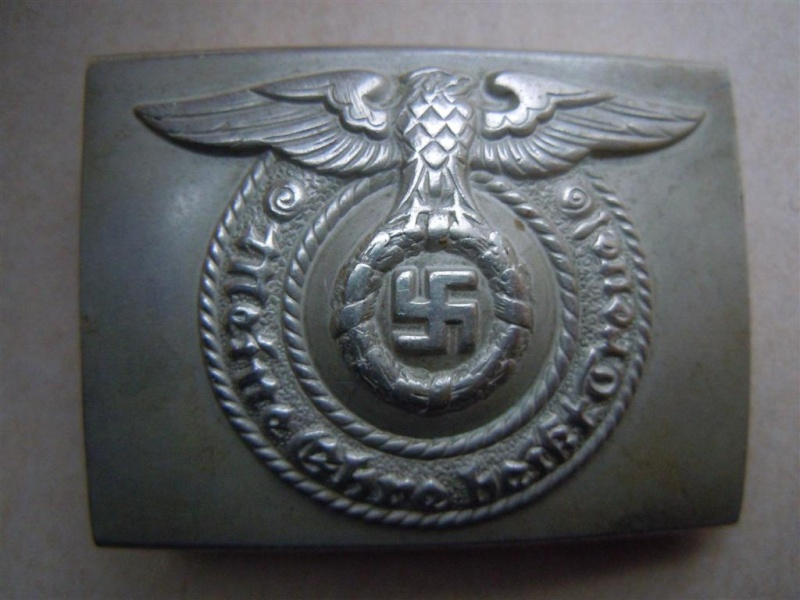 """Boucle SS (maillechort) - non marquée mdl """"FAT EAGLE"""" 2nd type Fat_ea10"""
