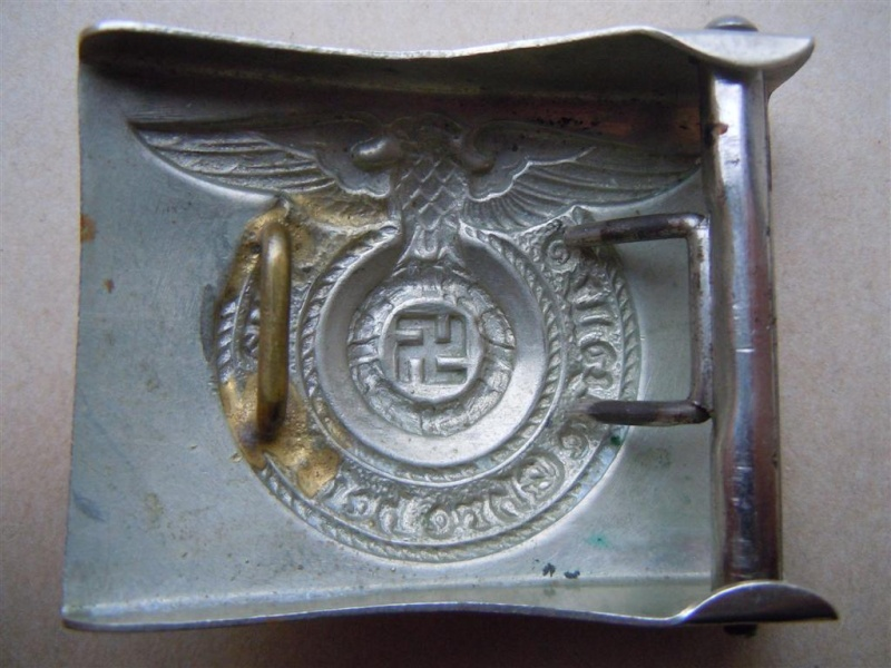 """Boucle SS (maillechort) - non marquée mdl """"FAT EAGLE"""" 2nd type Fat_ea11"""