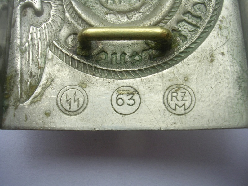 Boucle SS (maillechort) - RZM 63 - Steinhauer & luck Rzm6310