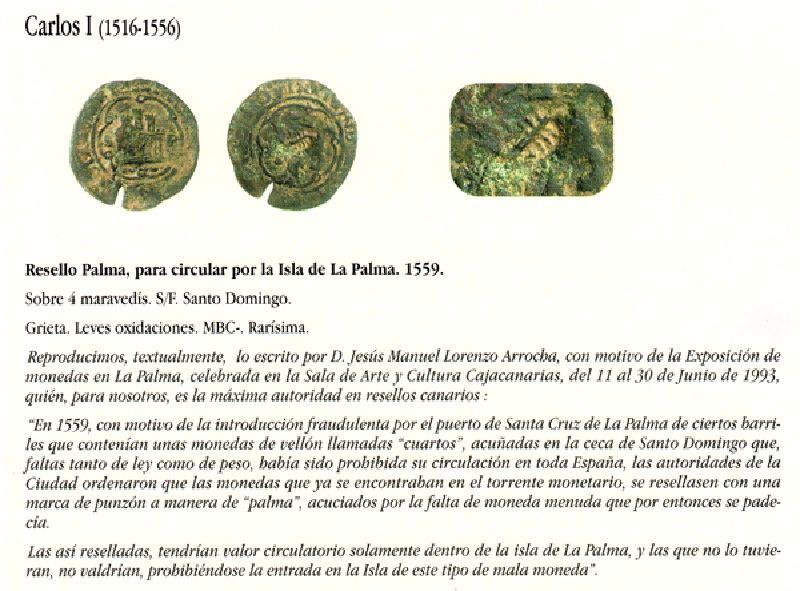Libro monedas canarias (en realidad son resellos) Bamz10