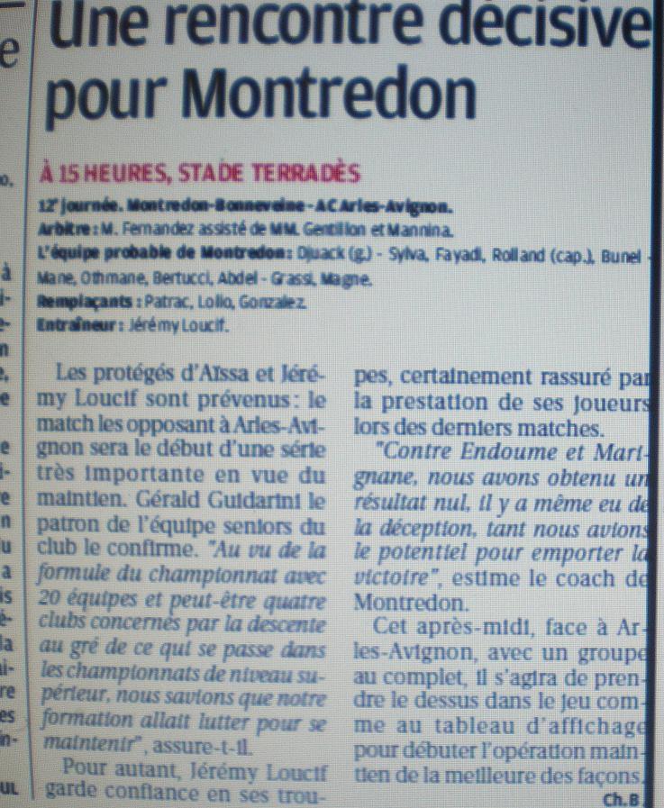 SC MONTREDON-BONNEVEINE - Page 2 Imgp4012