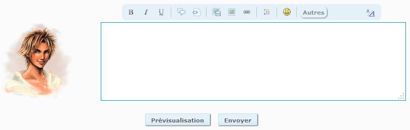 Ajouter l'avatar du membre à côté de la réponse rapide Quickr10