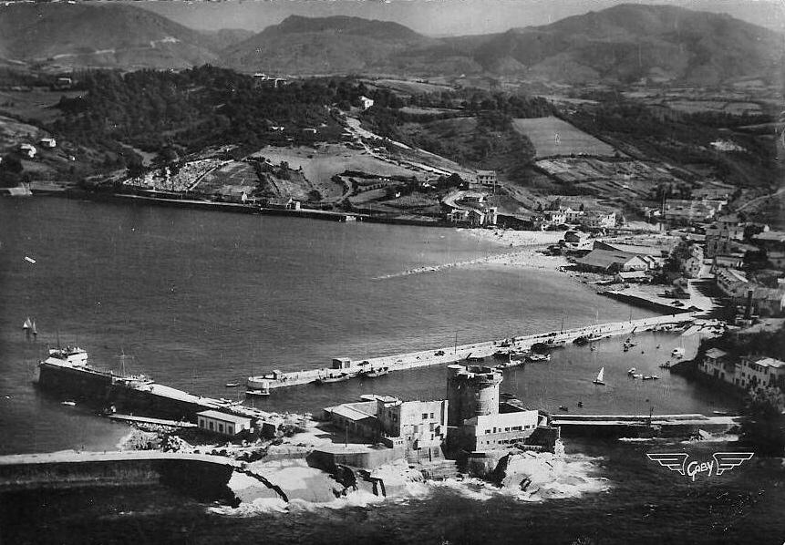 Reservoir à carburant du fort de Socoa. 112