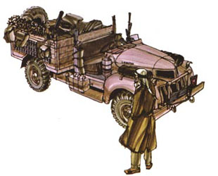 LRDG Chevrolet 30CWT with Breda - Page 2 Chevro10