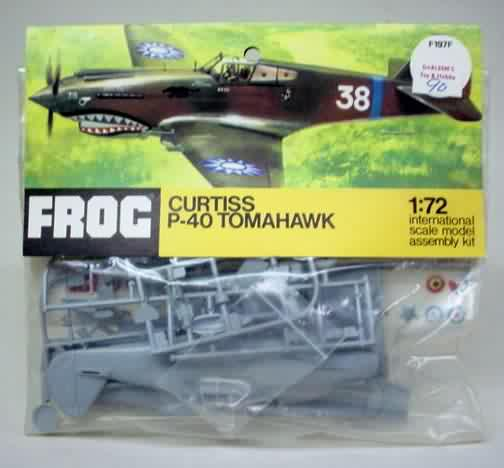 1/72nd Fw-190's and Airfix P-40 F197f-10