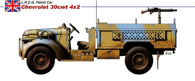 LRDG Chevrolet 30CWT with Breda P110