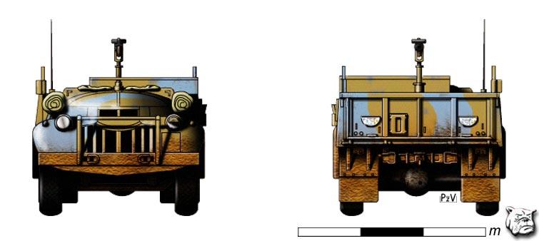 LRDG Chevrolet 30CWT with Breda P310