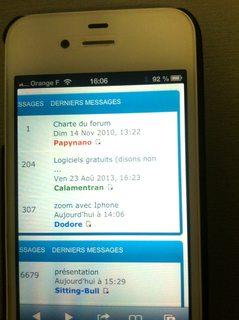 zoom avec Iphone Iphone10
