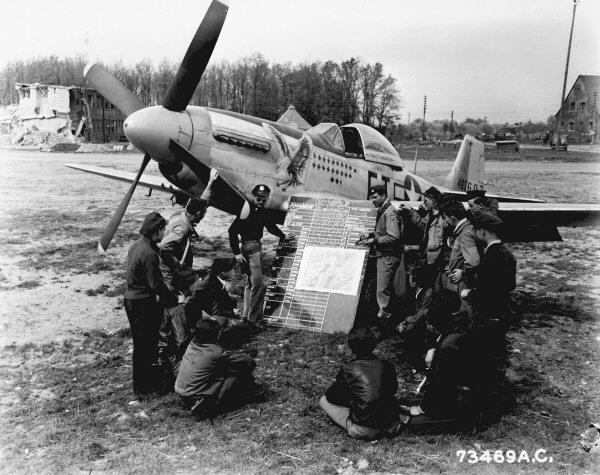 P-51D  lt col glenn t eagleston 73469a10