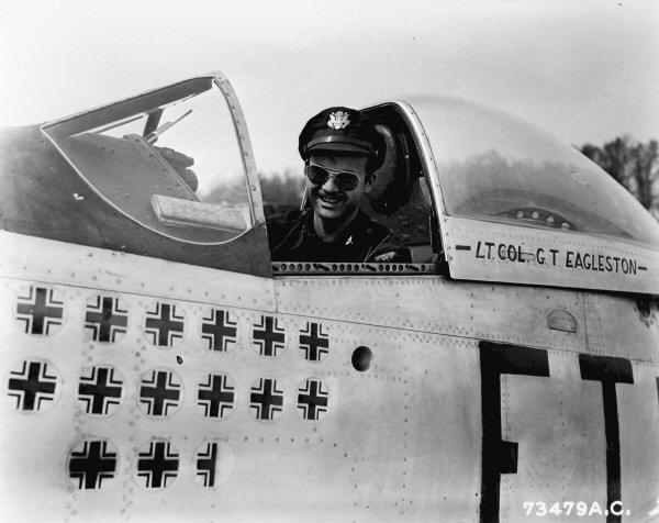 P-51D  lt col glenn t eagleston 73479a10