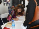 Laetitia Milot au salon du livre de Paris 2013 Dscn0424