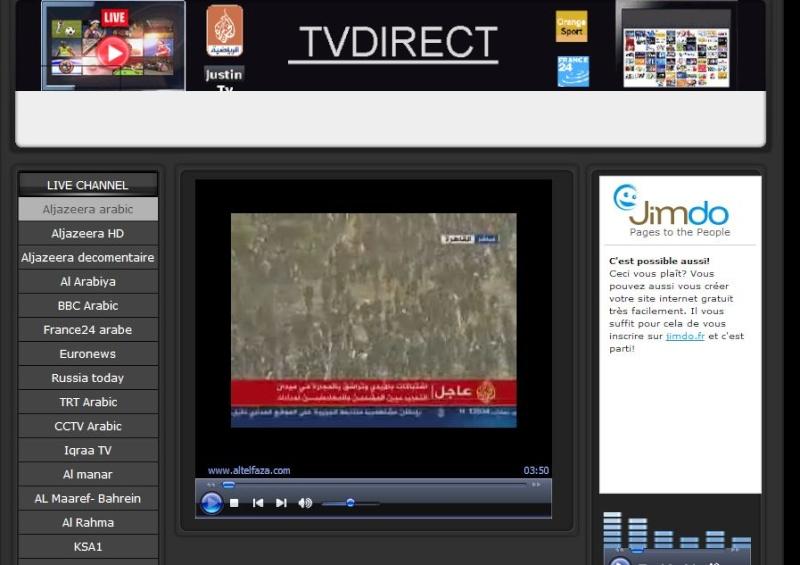 Lien Streaming WEB TV Tvdi11