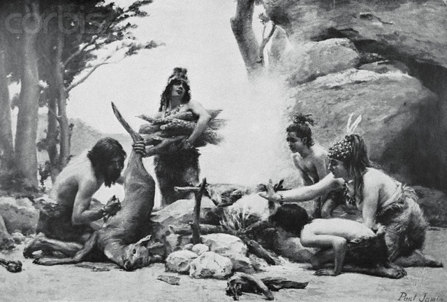 l'image de l'homme préhistorique Dec66210