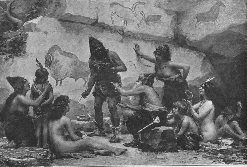 l'image de l'homme préhistorique Peintr10