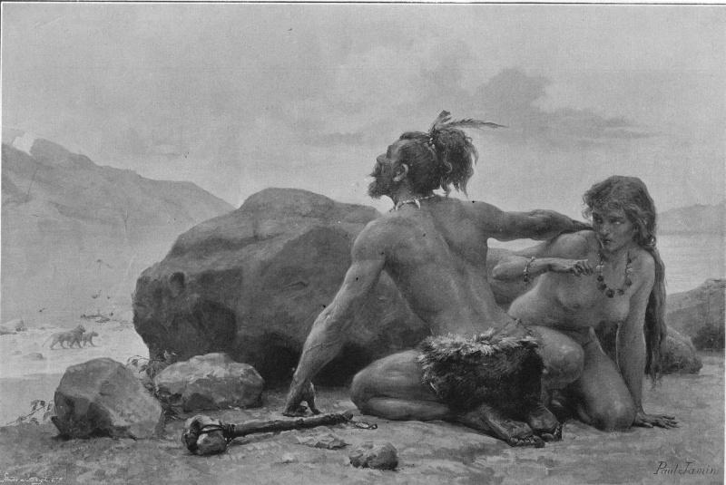 l'image de l'homme préhistorique Rencon10