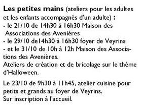 """""""La Parenthèse du mercredi"""" aux Avenières Sans_t10"""