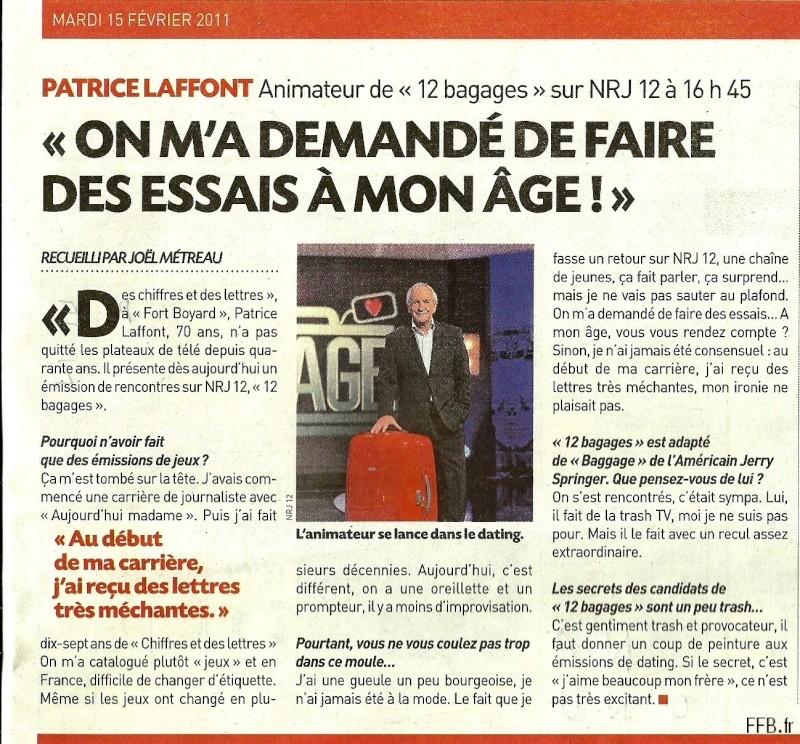 Actualités de Patrice LAFFONT (Fort Boyard de 1990 à 1999) Numari11