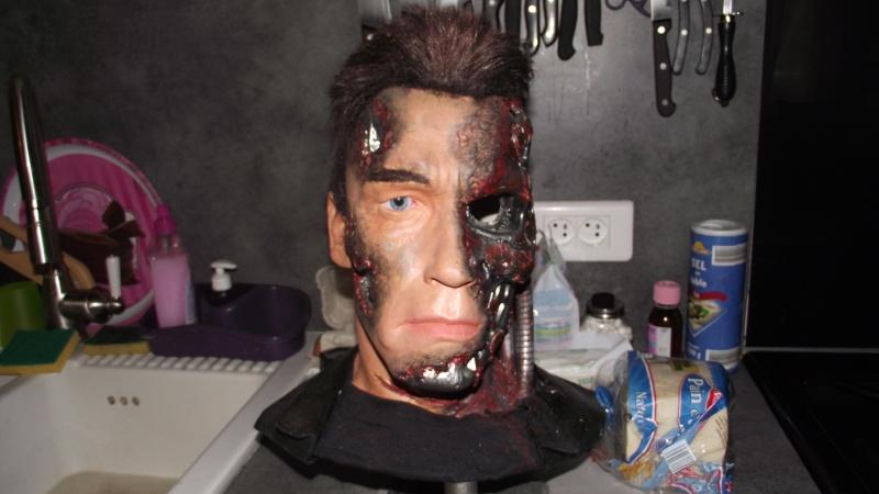 Terminator 3 Bust damaged 1/1 (Arnold) Dscf2511