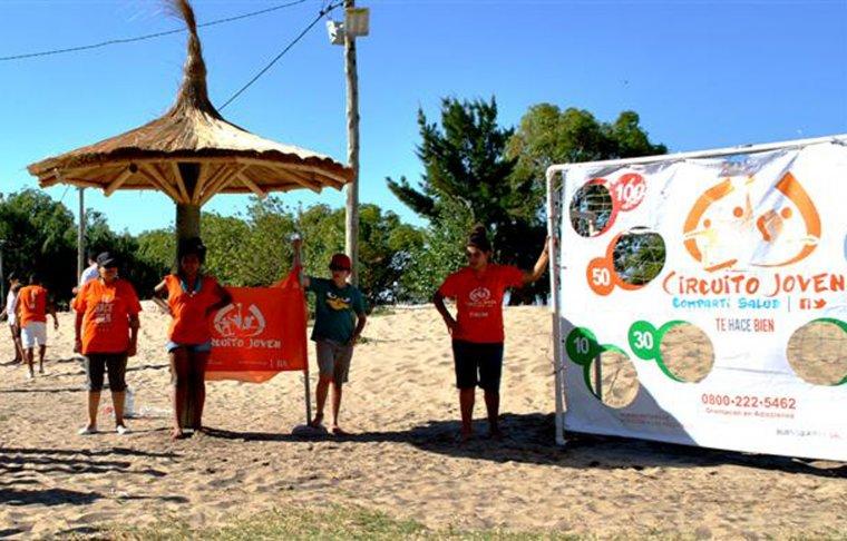 Más de 150 jóvenes en los juegos del Circuito Joven en Punta Indio 00112