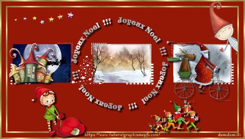 """Logo """"Fête """"Noël 2020 ►Servez vous Nozol11"""