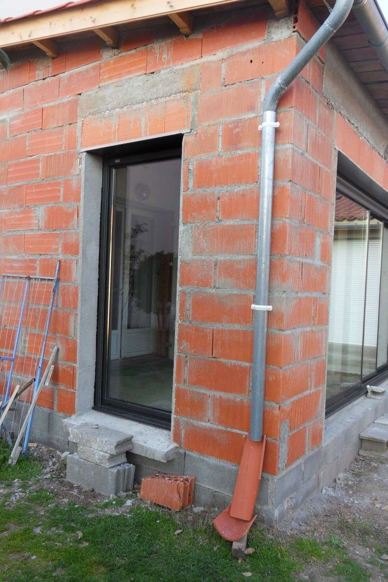 Création d'un extension pour inclure la terrasse dans la maison Sdc15710