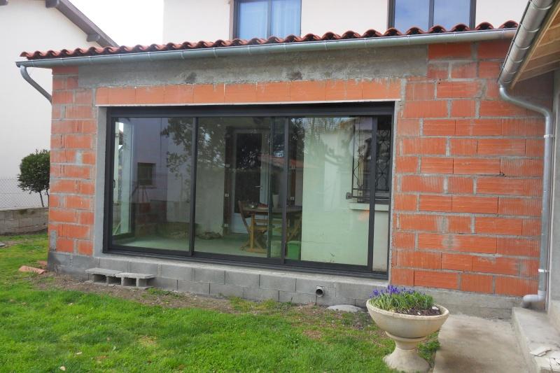 Création d'un extension pour inclure la terrasse dans la maison Sdc15810