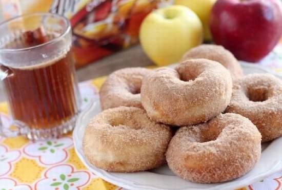 طريقة عمل دونات بالتفاح والقرفة Ciao_a10