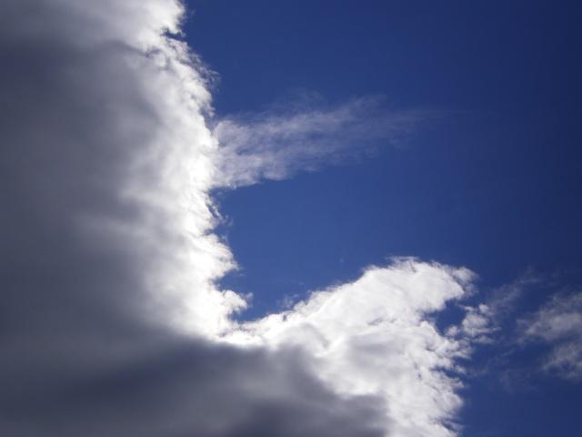 Photos de nuages Imgp3111