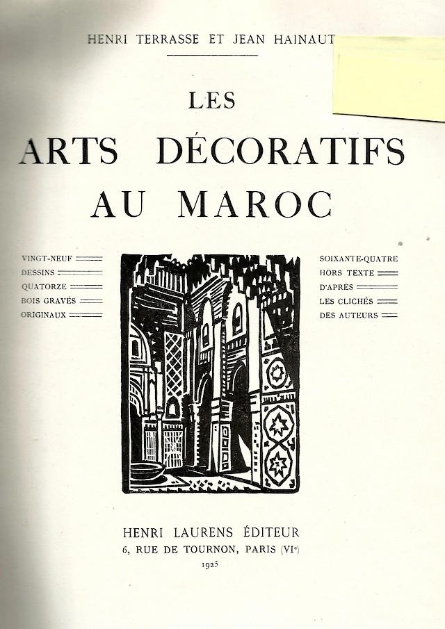 LES ARTS DECORATIFS AU MAROC Scan_a15