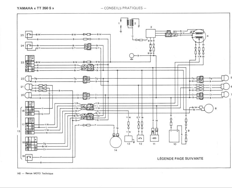 circuit  u00e9lectrique simplifi u00e9 350 tt