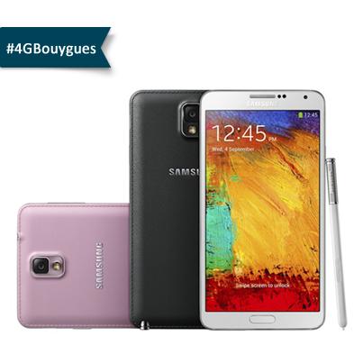 Galaxy Note 3 prochainement disponible chez Bouygues Telecom 12400810
