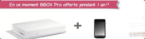 Bbox Pro: Les  nouveautés de la rentrée 2013.  13782710
