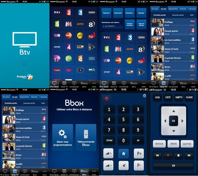 B.TV la nouvelle application sur smartphone pour les clients Bbox B_tv10