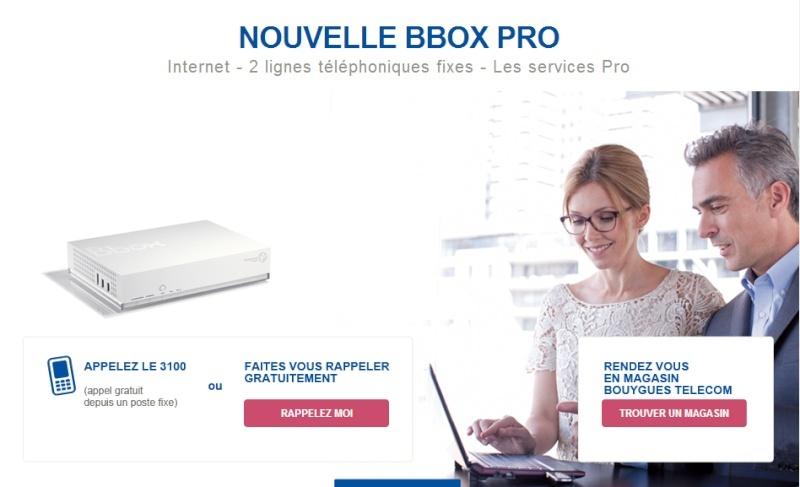 Bbox Pro: Les  nouveautés de la rentrée 2013.  Offres10