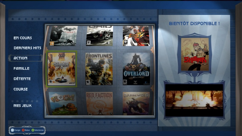 Le portail Bbox Games fait sa mue et revoit l'interface. Rubriq10
