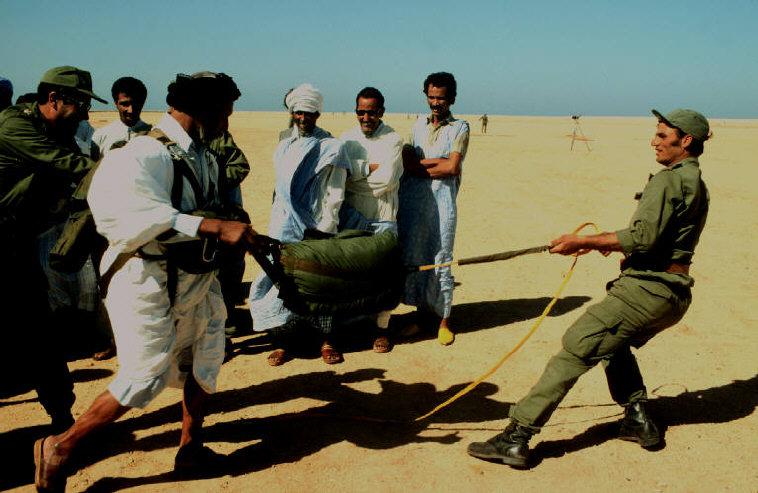 Le conflit armé du sahara marocain - Page 2 Sahara43