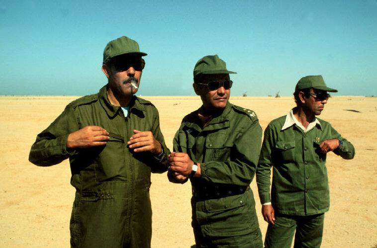 Le conflit armé du sahara marocain - Page 2 Sahara63