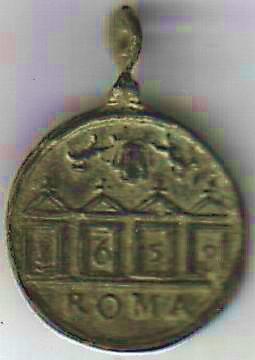 Médaille datée - Jubilé 1650 A121310