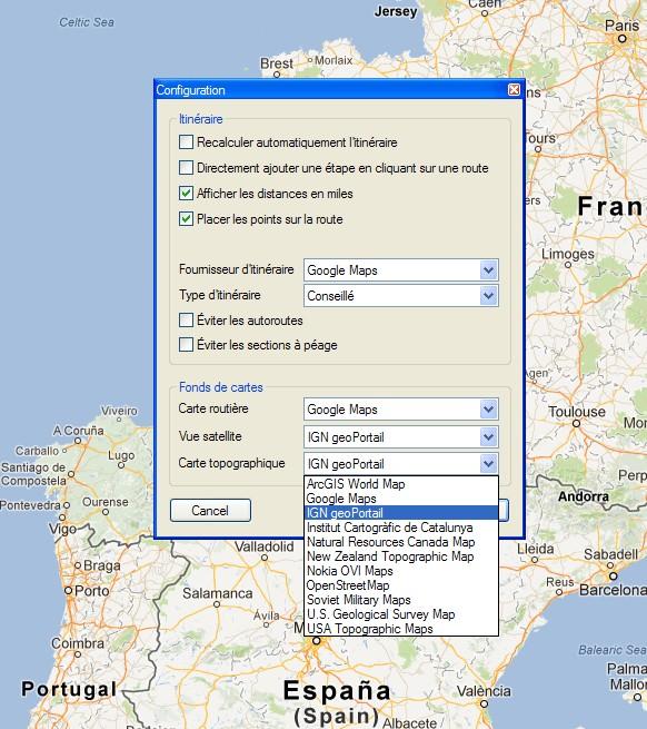 De ITN Converter vers Google Earth Itn10