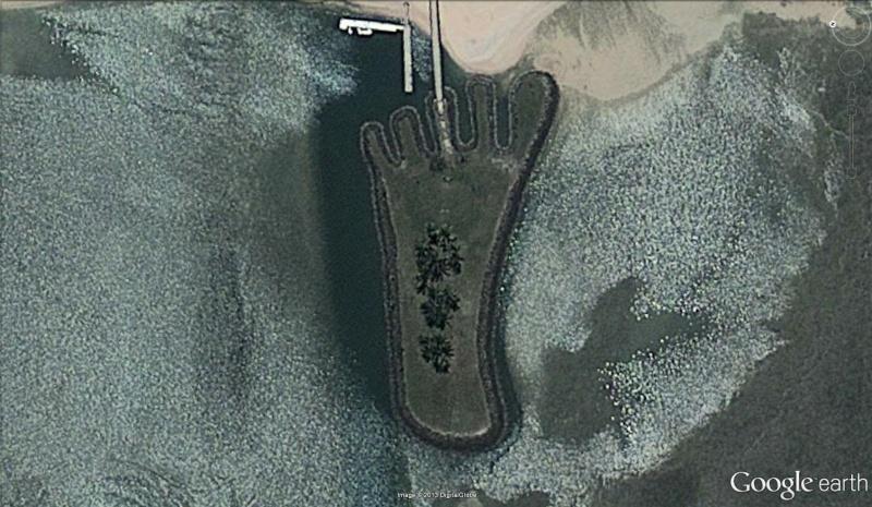 Ile en forme de pied - Fidji Pied10