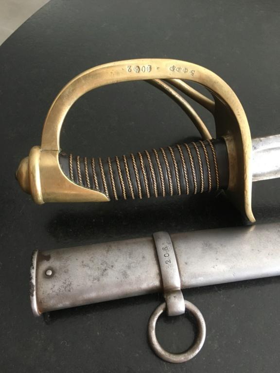 Sabre de cavalerie modèle 1822 Ae409910