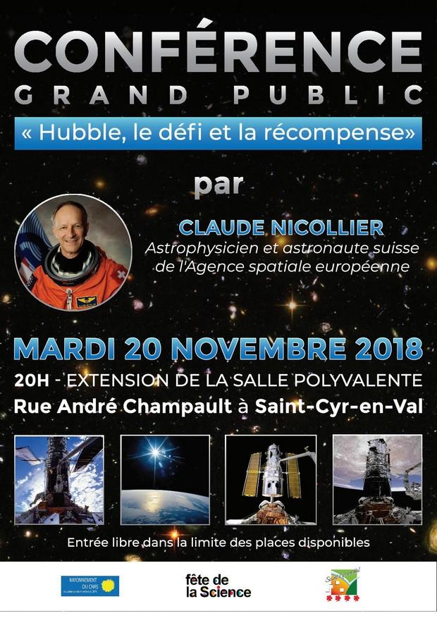 Liste des conférences de Claude Nicollier - Page 2 5bcdc510
