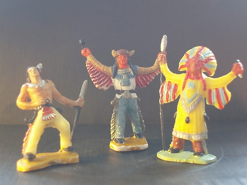 GUILBERT. Les indiens. P3211322