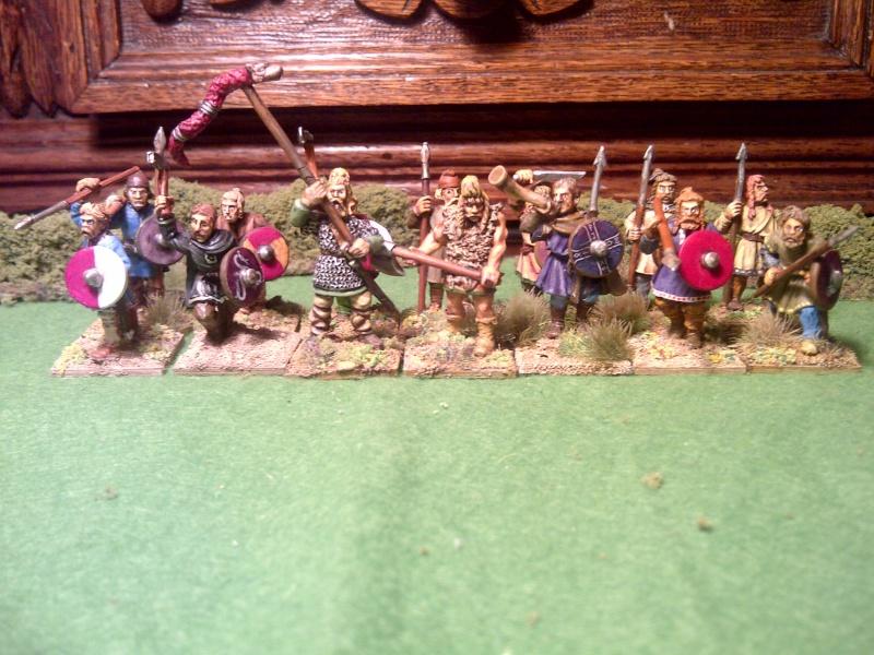 Saxons, angles et jutes Saxons10
