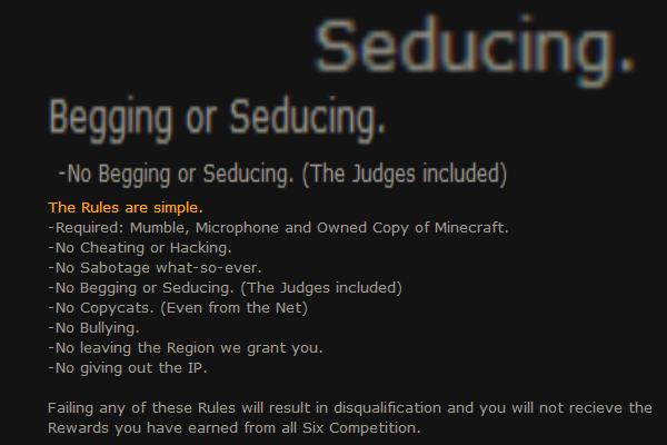 [Closed due to insufficient Competators] Minecraft Creative Competition Beggin10