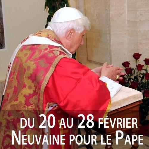 du 20 au 28 février : neuvaine pour le Pape 52987810